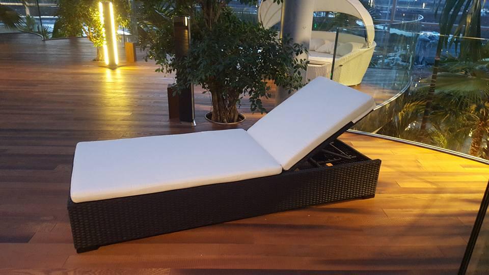 Relaxliege TAHITI Edition für den Objektbereich
